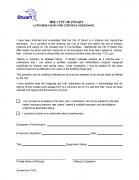 Cotinine Test Authorization