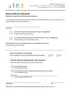 HIPAA Privacy Form
