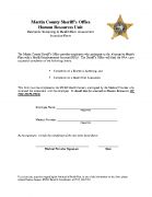MCSO HRA Incentive Form